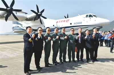 2017年记录下中国航空科技工作者的辛勤与汗水
